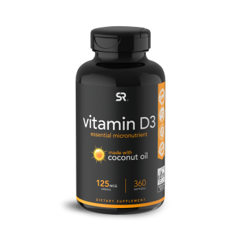 Vitamina D3 5,000 360s Sports Research