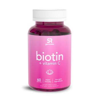 Biotina + vitamina C 60 gummies SPORTS Research