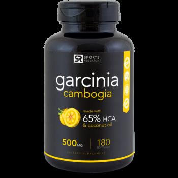 Garcinia cambogia 500mg 180 softgels