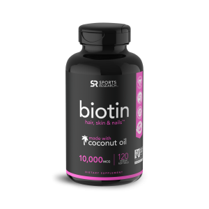 Biotina 10,000 120s Sports Research