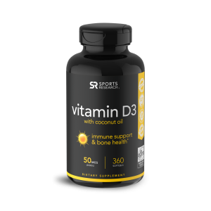 Vitamina D3 2,000 360s Sports Research