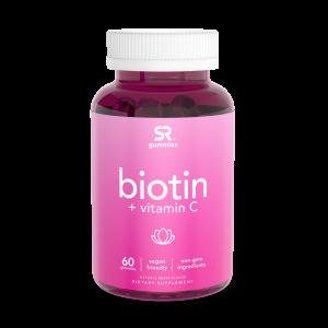 Biotina + vitamina C 60 gummies SPORTS Research